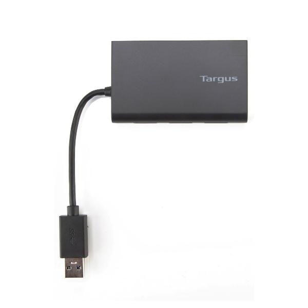 Hub 3 puertos USB 3.0 con Gigabit Ethernet