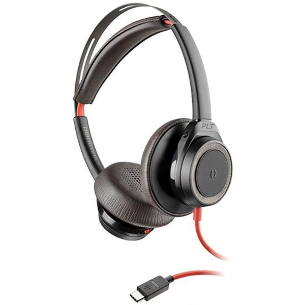 Plantronics Blackwire 7225 USB-C - Negro