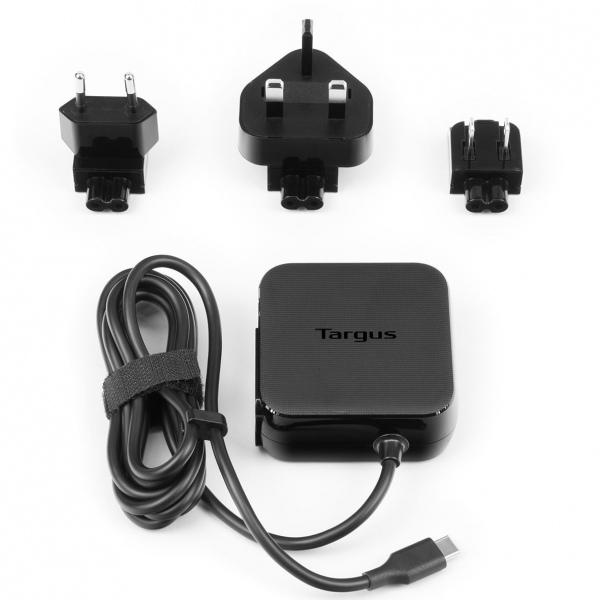 Targus APA95EU cargador de dispositivo móvil Interior Negro