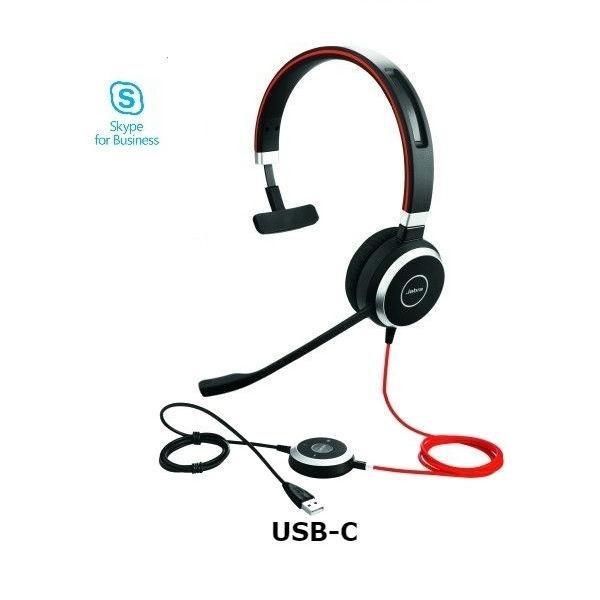 Jabra Evolve 40 MS Mono - USB-C