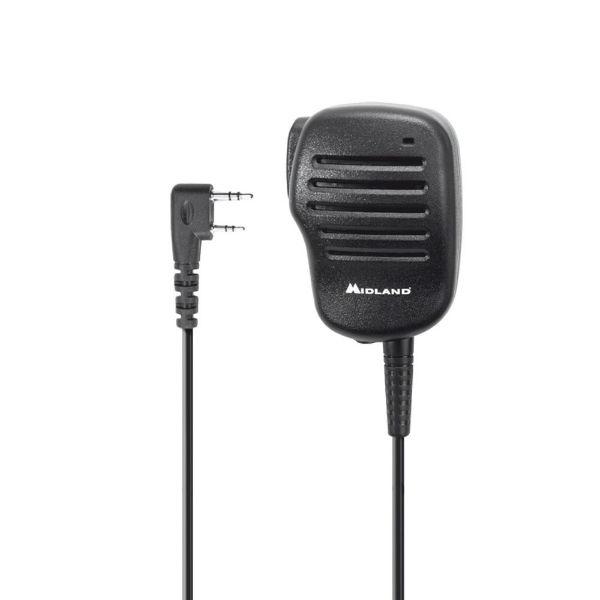 Midland BA22: Micrófono altavoz 2 pin Kenwood