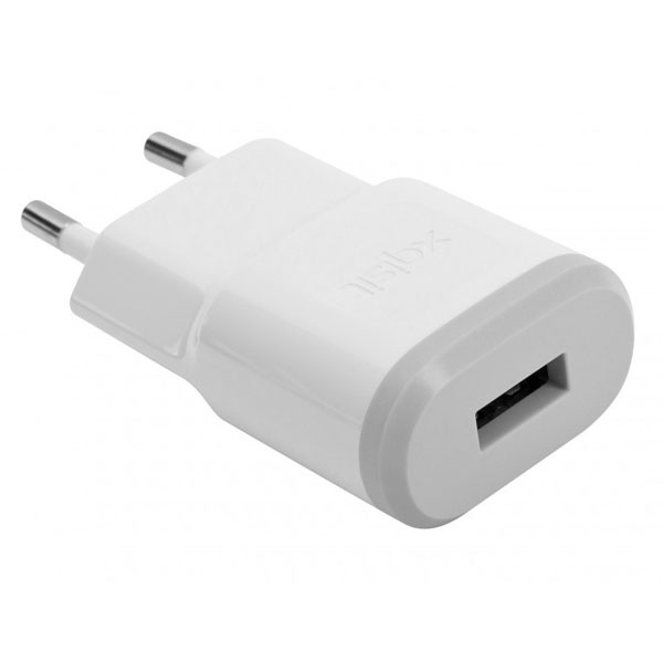 Adaptador corriente / USB Blanco