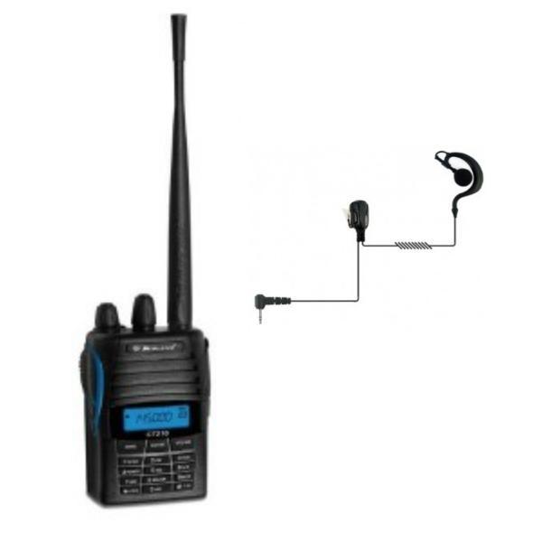 Midland CT 210 VHF + Auricular gancho