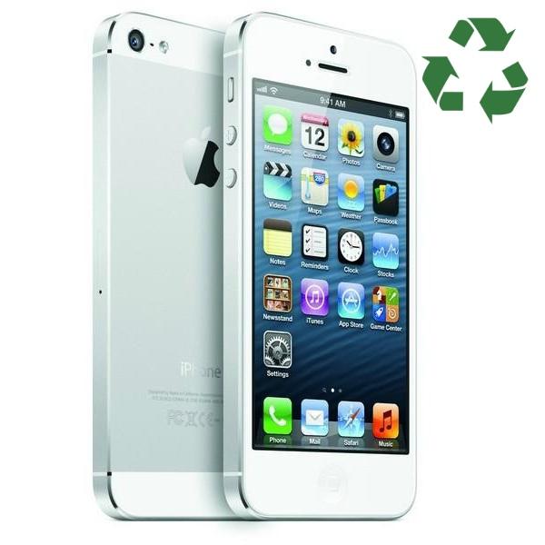 iPhone 5S 16GB plata reacondicionado