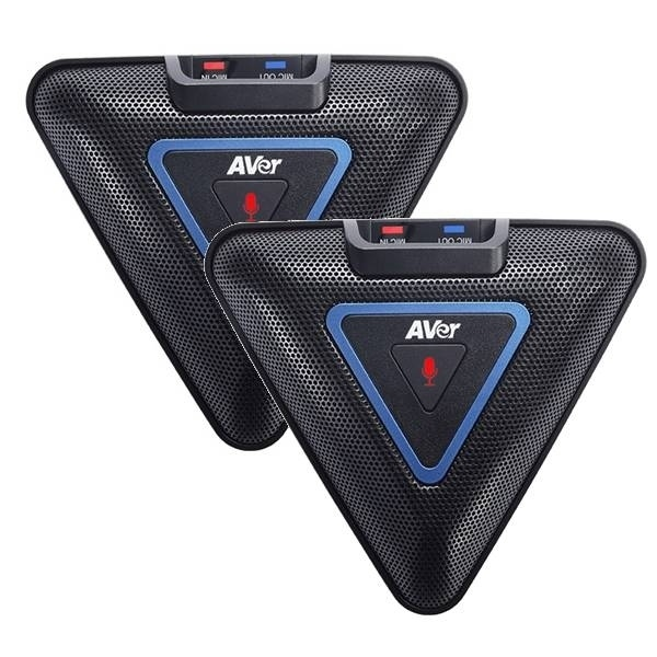 AVer VC520 Pro con micrófonos expandibles