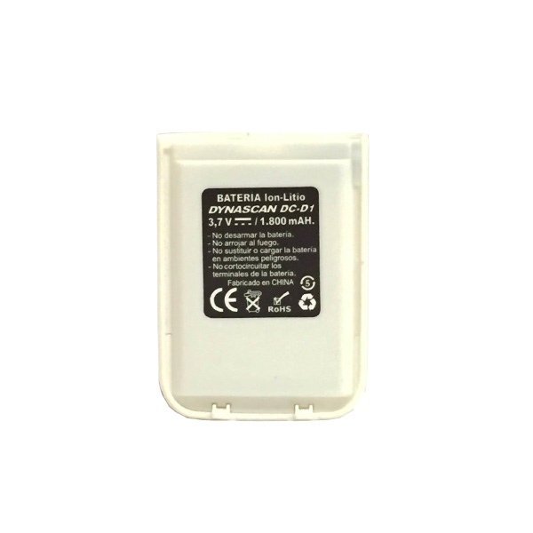 Batería 1800mAh para Dynascan 1D Blanco