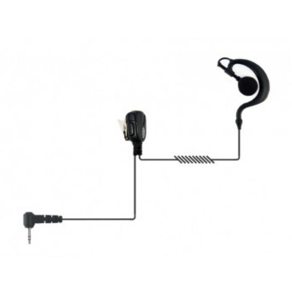 Auricular gancho 1 pin Motorola, cable resistente
