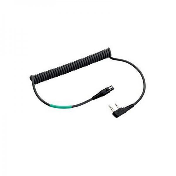 3M Peltor Cable FLX2 para Kenwood 2 pins