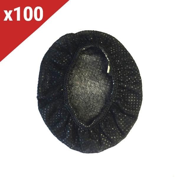 Protectores desechables negros para almohadillas (100 uds)