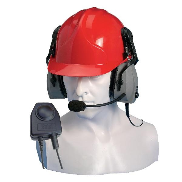 Ear Defender with Mic for Entel HT (Hard Hat)