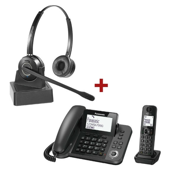 Pack Panasonic KXTGF310 + Cleyver HW15
