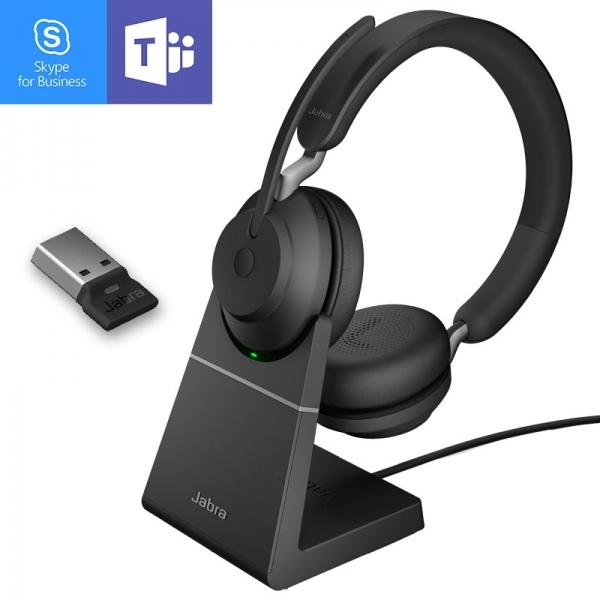 Jabra Evolve2 65 MS  USB con base