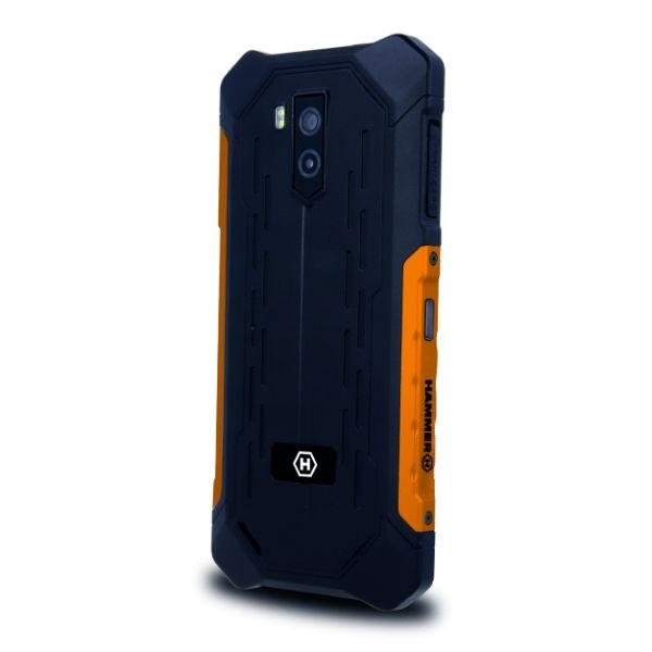Smartphone resistente color naranja - Móviles y Smartphones Resistentes