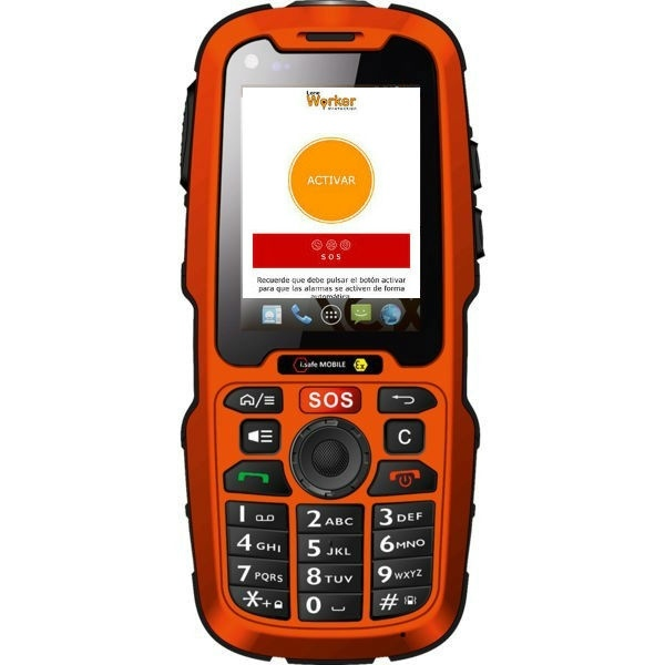 i.safe IS320 sin cámara con app Lone Worker