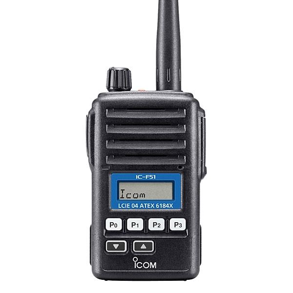 Walkie talkie ATEX UHF