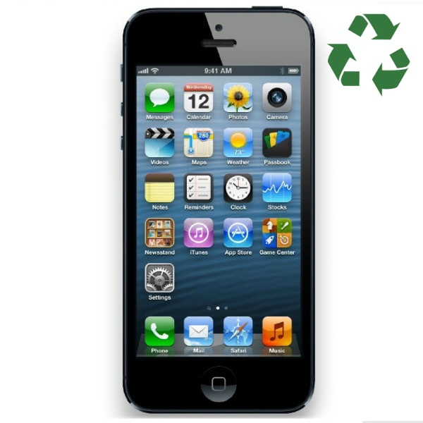 iPhone 5 32GB negro reacondicionado