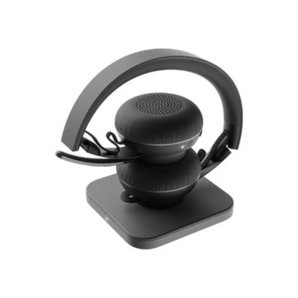 Logitech Auriculares Zone Wireless Plus Stand