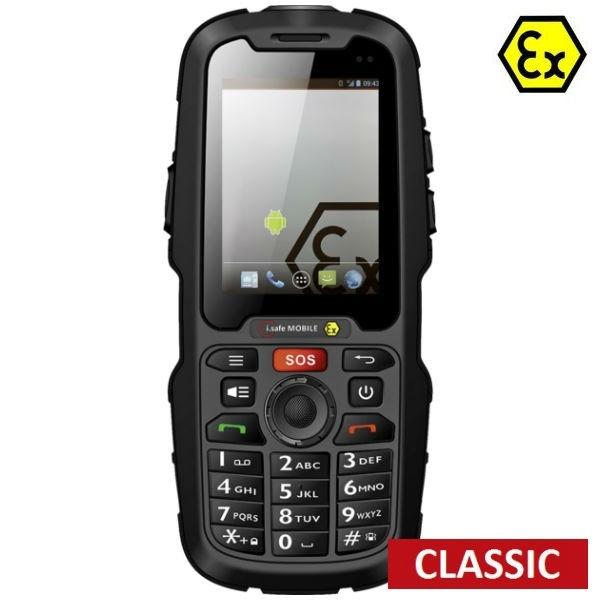 Móvil i.safe IS310.2 Atex sin cámara - Classic