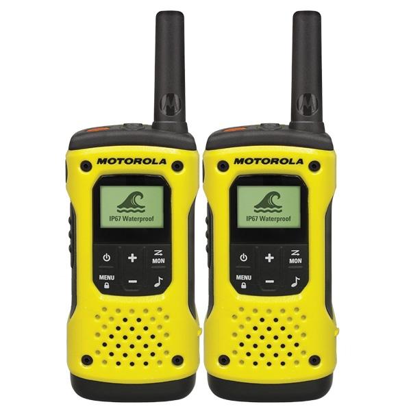 Motorola T92 con adaptador