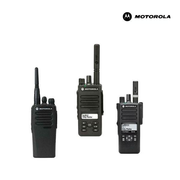 Walkies Motorola con licencia