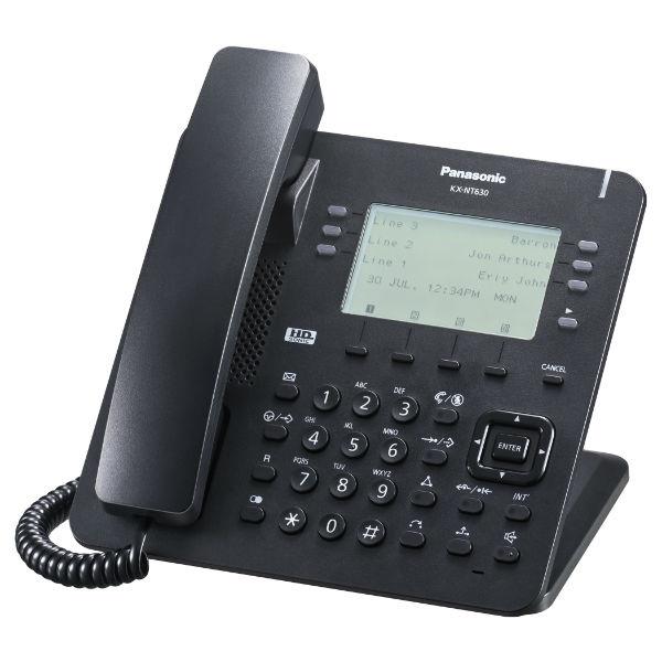 Teléfono IP KX-NT630 Negro