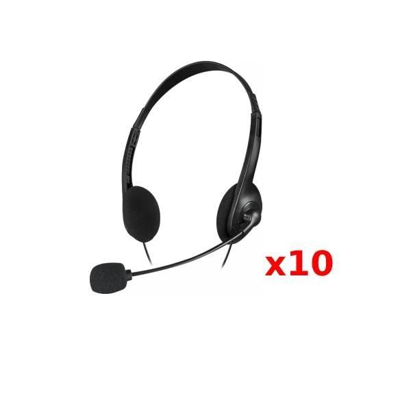 PACK 10: Speedlink Accordo Stereo Negro