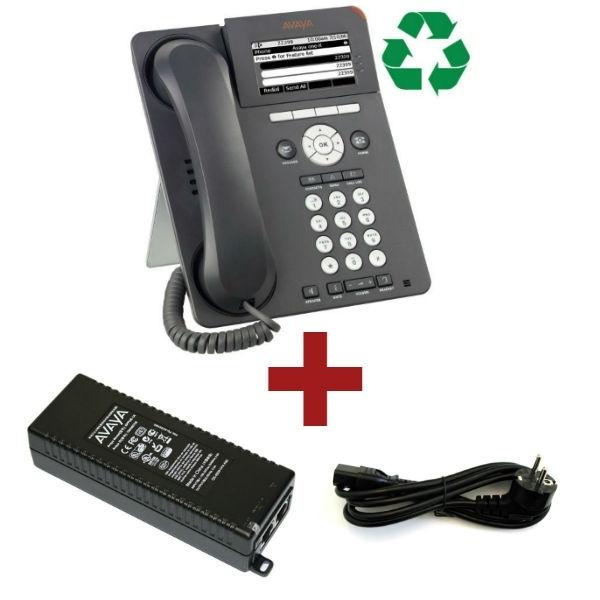 Avaya 9620L Reacondicionado + Inyector + Cable
