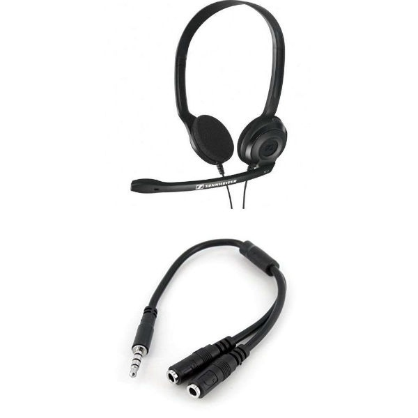 Sennheiser PC 3 Chat + Cable adaptador
