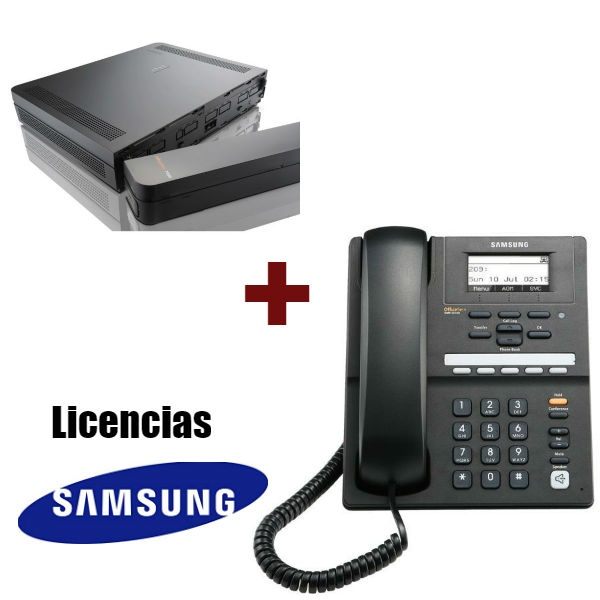 Centralita Samsung + Teléfono IP + Licencias