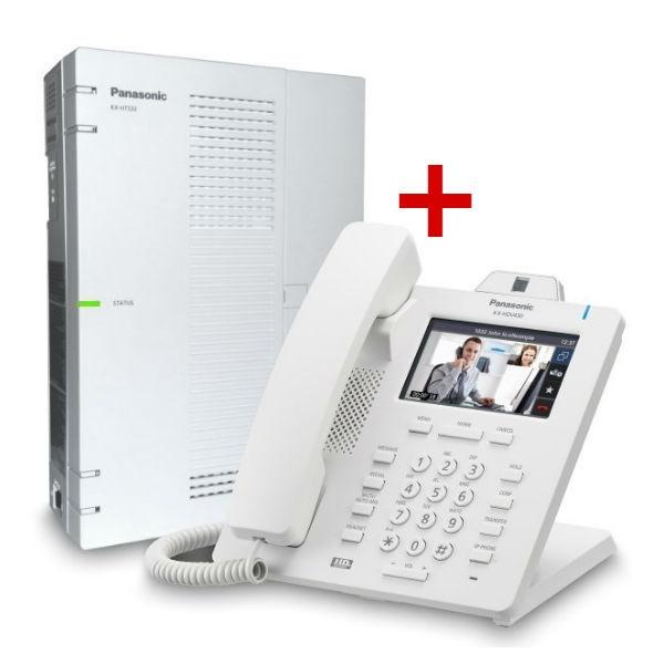Centralita Panasonic KX-HTS32 + Panasonic KX-HDV430