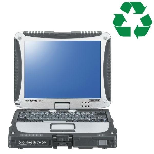 Panasonic Toughbook CF-19 - C2D - 4GB - SS240GB - W10