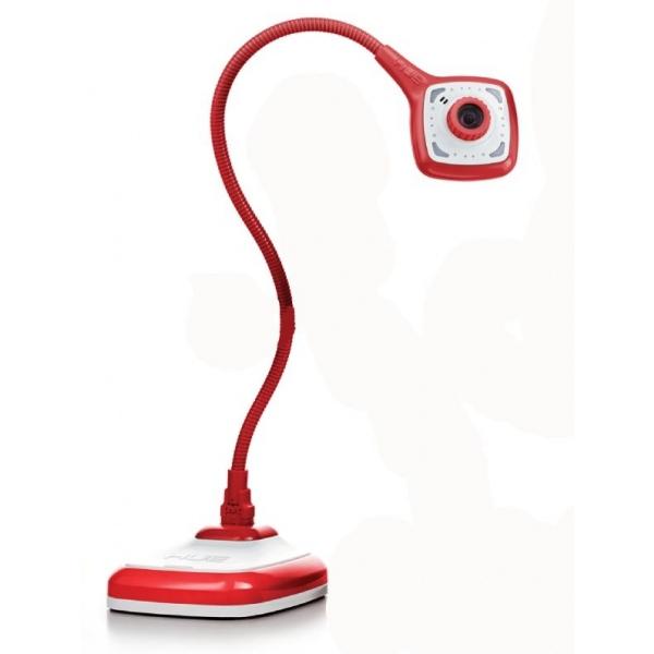 HUE HD PRO Cámara de Documentos/Webcam flexible Roja