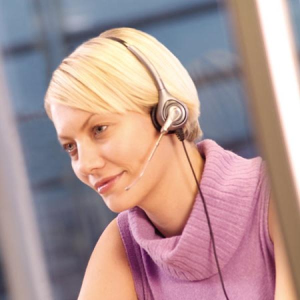 Plantronics SupraPlus HW261H Headset For Hard of Hearing (2)