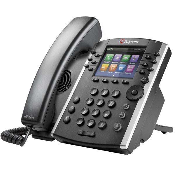 Polycom VVX 401 optimizado para Skype for Business