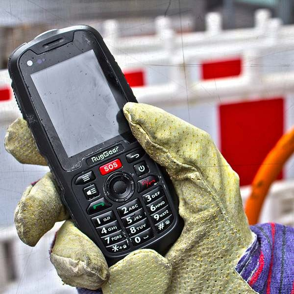 Teléfono móvil resistente