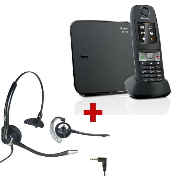 Gigaset E630 + auiricular OD HC10