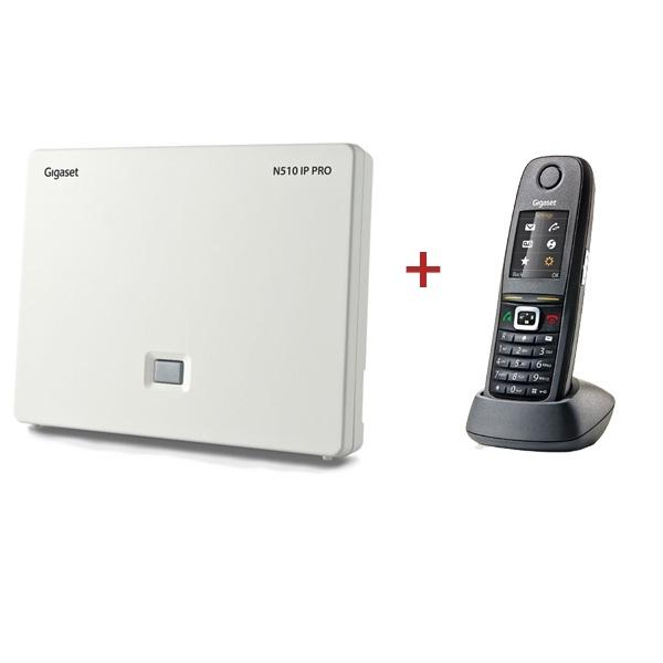 Pack N510 IP Pro + Gigaset R650H Pro DECT