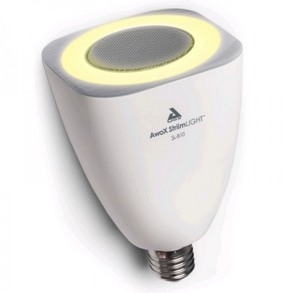 Awox StriimLIGHT – Bombilla con altavoz Bluetooth