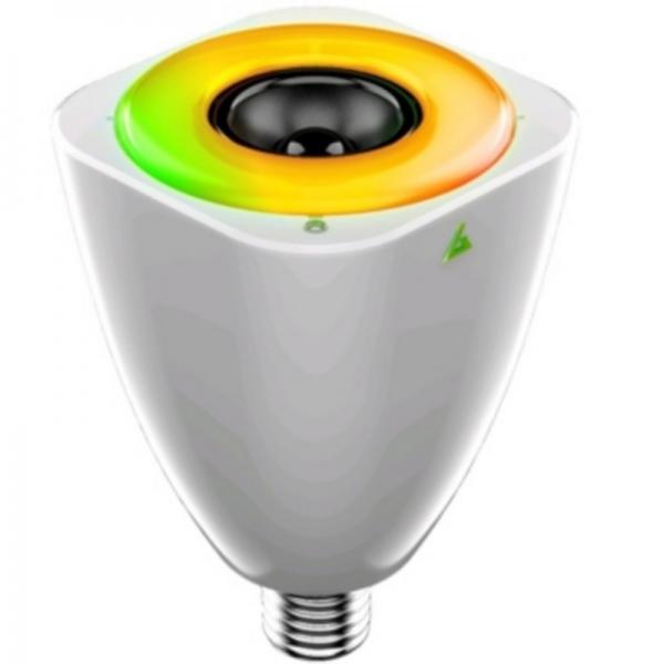 Bombilla con altavoz Bluetooth
