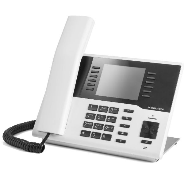 Teléfono IP blanco innovaphone IP222