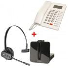 Pack oficina: auricular CS 540 + teléfono PK 111