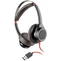 Plantronics Blackwire 7225 USB-A - Negro