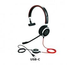 Jabra Evolve 40 UC Mono - USB-C