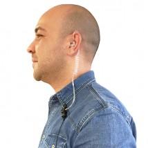 Micro-auricular tipo Bodyguard Sari  para Kenwood PKT-23