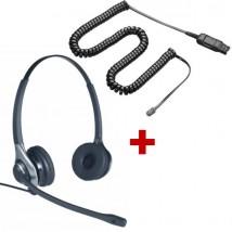OD HC 45 + Cable HIC QD para Avaya 64XX y 46XX