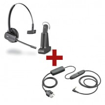 Auricular Plantronics CS540 + Descolgador para iPhone