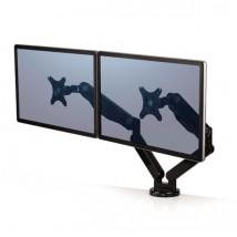 Brazo doble para monitor Platinum Series Fellowes