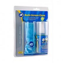 AF Spray limpiador y paño para pantallas