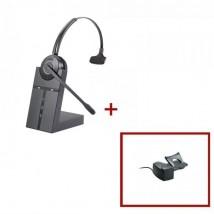 Pack de auricular Cleyver HW20 + Descolgador mecánico
