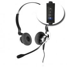 Auricular Duo con controles USBD2